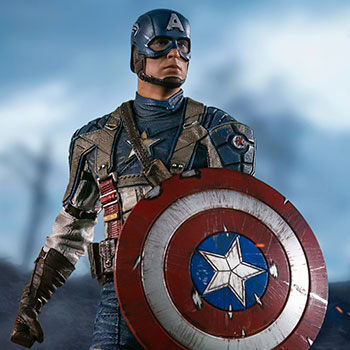 Captain America: The First Avenger Statue