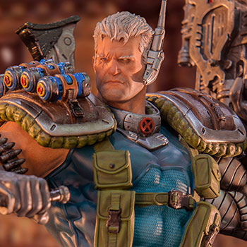 Cable 1:10 Scale Statue