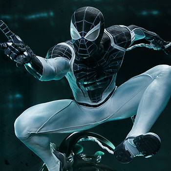 Spider-Man Negative Zone Suit Statue