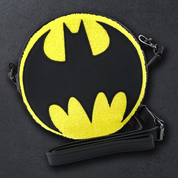 Bat Signal Crossbody Apparel