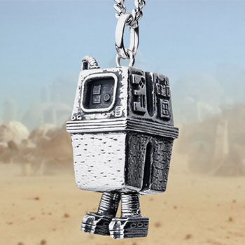 Gonk Droid Necklace Jewelry