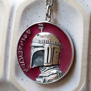 Cloud City Planetary Medallion Jewelry