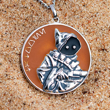 Tatooine Planetary Medallion Jewelry