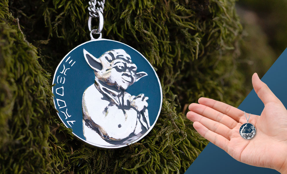 Dagobah Planetary Medallion Jewelry