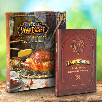 World of Warcraft and Hearthstone Cookbook Set Book