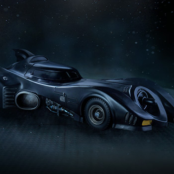 Batmobile 1:10 Scale Statue