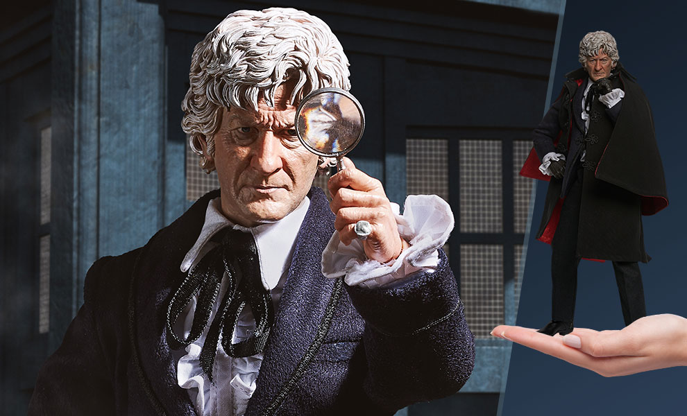 Third Doctor Sixth Scale Figure