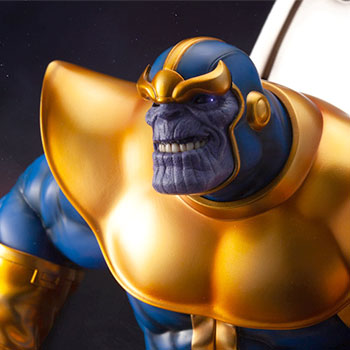 Thanos on Space Throne Statue
