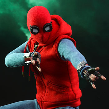 Spider-Man (Homemade Suit) Sixth Scale Figure