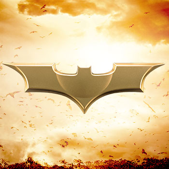 Batman Begins (2005) Metal Batarang Replica