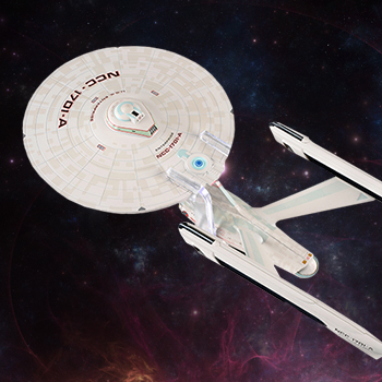 USS Enterprise NCC-1701-A Model