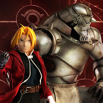 Alphonse Elric & Edward Elric (Twin Pack) Sixth Scale Figure Set