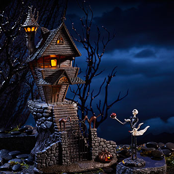 Jack Skellington's House Figurine