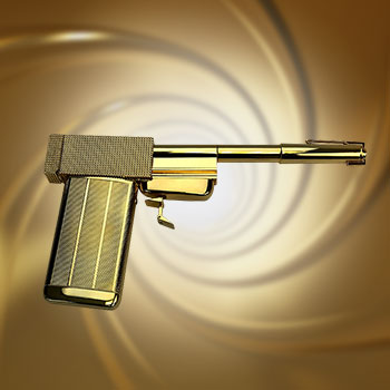 The Golden Gun Prop Replica