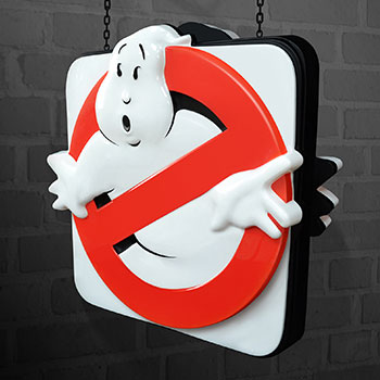 Ghostbusters Firehouse Sign Replica