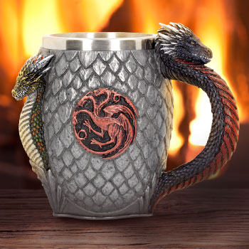 House Targaryen Tankard Collectible Drinkware