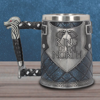 King in the North Tankard Collectible Drinkware