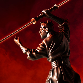 Darth Maul Figurine Pewter Collectible