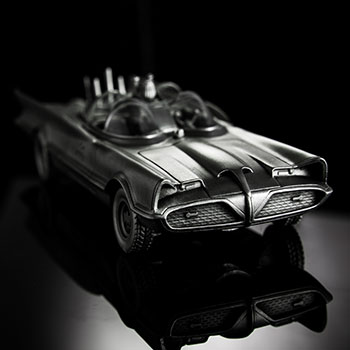 Batman 80th Classic Batmobile Replica Pewter Collectible