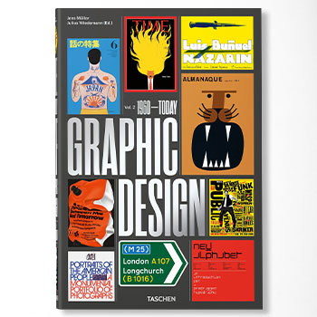 The History of Graphic Design Vol. 2, 1960-Today Book