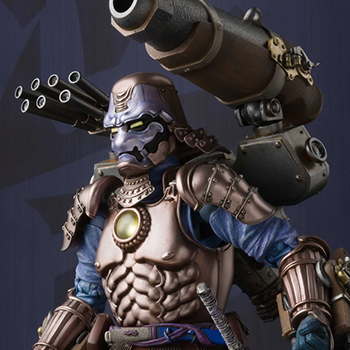 Koutetsu Samurai War Machine Collectible Figure