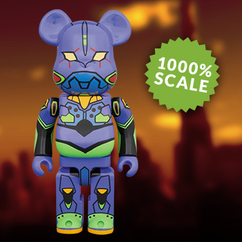 Be@rbrick Evangelion-01 1000% Figure