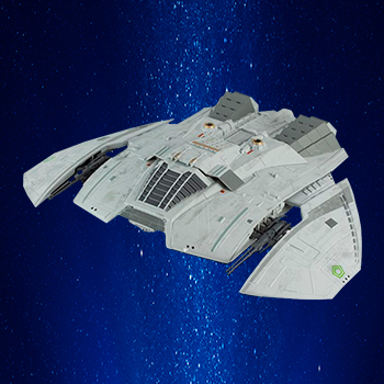 Cylon Raider (Blood and Chrome) Model