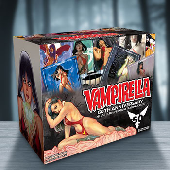 Vampirella 50th Anniversary Deluxe Ultra-Premium Trading Cards Collectible Set