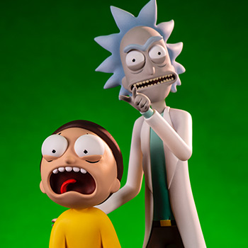 Rick & Morty Sixth Scale Figure Set