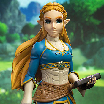 The Legend of Zelda: Breath of the Wild Zelda Statue