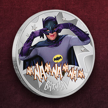 Batman Silver Coin Silver Collectible