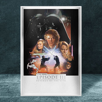 Revenge of the Sith Silver Foil Silver Collectible