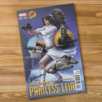 Star Wars Princess Leia #1 Book