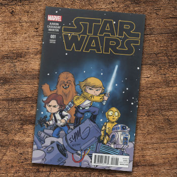 Star Wars #1 Variant Cover Book