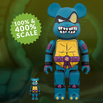 Be@rbrick Slash 100% and 400% Collectible Set