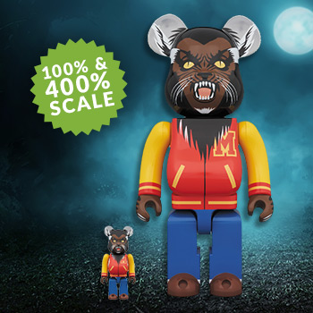 Be@rbrick Michael Jackson Werewolf 100% & 400% Collectible Set