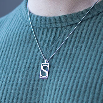Sideshow S Pendant Necklace Jewelry