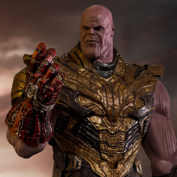 Thanos Black Order Deluxe 1:10 Scale Statue