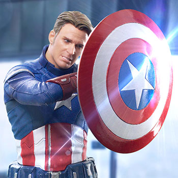 Captain America 2023 1:10 Scale Statue