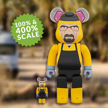 Be@rbrick Walter White 100% and 400% Collectible Set
