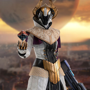 Warlock Philomath (Calus's Selected Shader) Sixth Scale Figure
