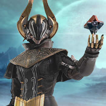 Warlock Philomath (Golden Trace Shader) Sixth Scale Figure