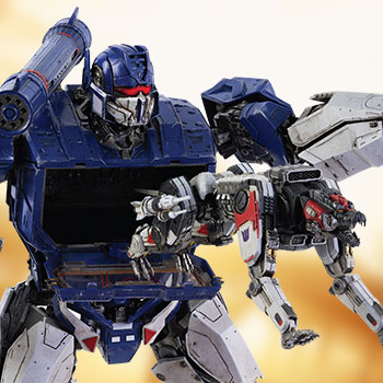 Soundwave & Ravage Collectible Figure