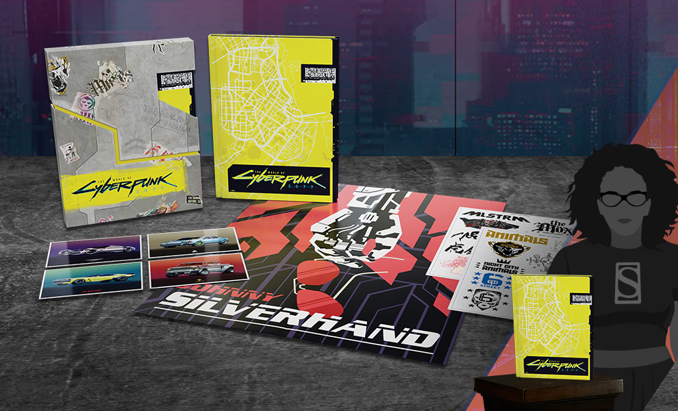 The World of Cyberpunk 2077 (Deluxe Edition) Book