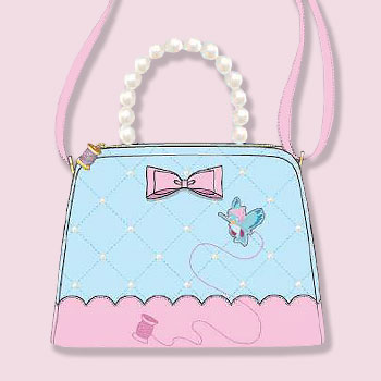 Cinderella 70th Anniversary Pearl Handle Crossbody Apparel