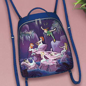Peter Pan Mermaids Mini Backpack Apparel