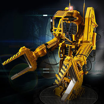 Alien Power Loader Statue