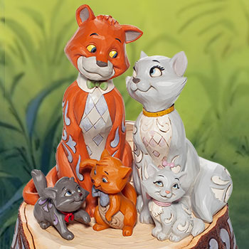 Aristocats Carved by Heart Figurine