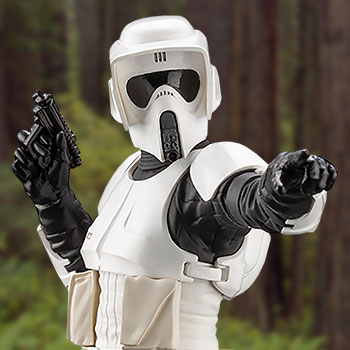 Scout Trooper 1:10 Scale Statue