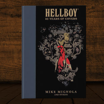 Hellboy: 25 Years of Covers Book